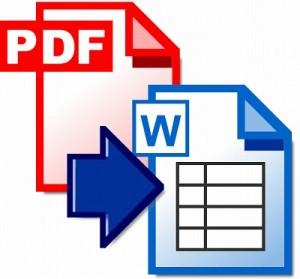 PDF WORD 変換