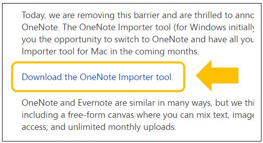 evernote onenote 移行