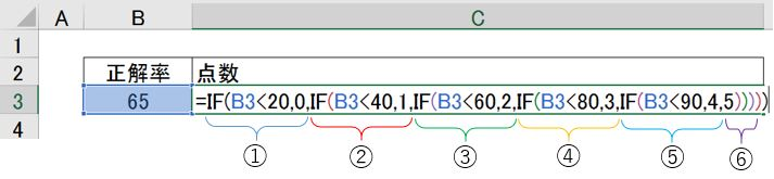 Excel if 複数条件