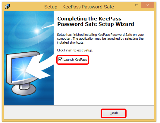 keepass password safe インストール7